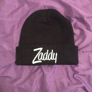 """""""Zaddy"""" skully hat"""